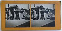 Esposizione Universale Da Parigi 1900 Sezione Cinese Cina Siam Foto Stereo