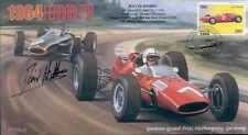 1964b ferrari 158 & brm P261 nurburgring F1 couverture signé david hobbs
