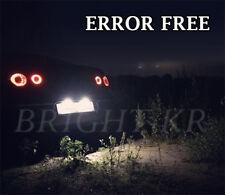 VW Passat B5 B6 BRIGHT XENON WHITE LED Number Plate Light Bulbs - ERROR FREE