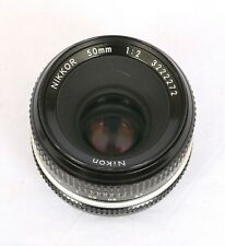 Nikon 50mm f2 Pre-Ai Lens