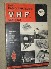 AARL THE AMATEUR'S V.H.F.MANUAL; 1972 COPY 3rd EDITION