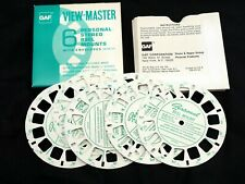 View-Master personal blank reels GAF - pack of 6 reels w/envelopes - JJ
