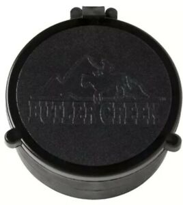 Broken Butler Creek Rifle Scope Lens Cap, Does Not Close.  Broken Spring