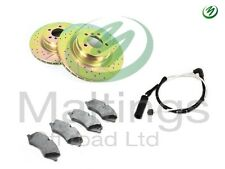 range rover supercharged performance brakes drilled + grooved front 4.2 3.6 tdv8