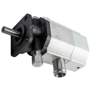 1Pcs 16GPM Hydraulic Log Splitter Pump, 2 Stage Hi Lo Gear Pump, Logsplitter
