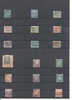 Oberschlesien 1920, Michelnrn: 1 - 29 o, gestempelt o, Einzelmarken zur Auswahl