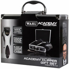 Wahl Academy Collection 17 Fibre 100ml & Chrome Cordless Trimmer Gift Set