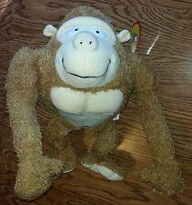 Sasquatch Big Foot Gorilla Pig-Monkey Stuffed Animal Plush Toy. New w/Tags RARE!