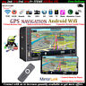 7''2 DIN GPS Android WIFI Touch Screen 8GB Autoradio FM Stereo Bluetooth MP5 DVR