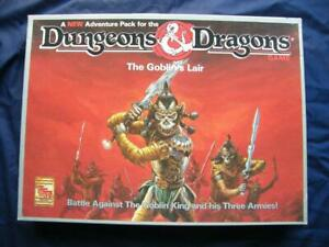 Dungeons & Dragons The Goblin's Lair - TSR - Part Punched - VG+