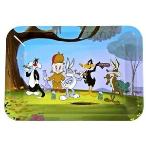 "Mini Metal Rolling Tray - . Looney Tunes. 5"" x 7"""
