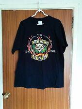 Vintage Stiff Little Fingers tour t-shirt 25th anniversary 2002 punk rock XL