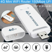 LTE 4G Wireless USB WIFI Modem Mini Router Mobile Broadband with Hot-Spot New