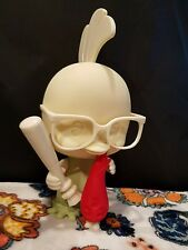 "RARE Chicken Little Unpainted 9"" Figure W/ Alien & Baseball Bat 2004 NECA Disney"