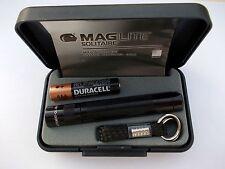 Mag-Lite Solitaire  Taschenlampe in Geschenkbox Schwarz mit Batterie