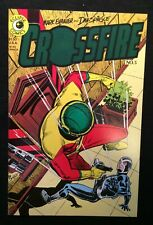 "Eclipse Comics Crossfire Vol.1 #5 Sept. 1984 ""The Spotlight"" 9.0 VF/NM"