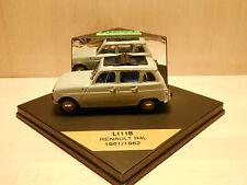 Renault 4L Vitesse L111B R4L 1961/1962 toit ouvert Limited Edition 1876/2500