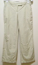 WOMENS COUNTRY ROAD PETITE BEIGE CASUAL LOOSE PANTS, Sz 8 (#0419)