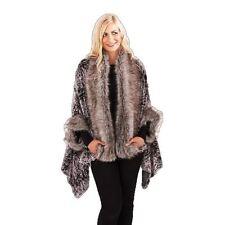 Manteaux et vestes marrons en fourrure pour femme