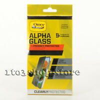 OtterBox Alpha Glass Privacy Samsung Galaxy S7 Screen Protector Black Clear