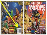 Rise of Apocalypse #1 NEWSSTAND Ultra RARE + 2 3 4 Set 1996 Marvel X-Men LOT