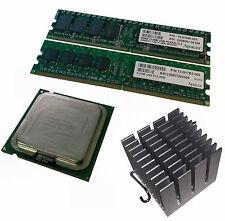 Intel Pentium D 830SL88S CPU   2x Apacer DDR2 512Mb   Intel 945G Heatsink