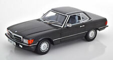 1:18 Norev Mercedes 300SL R107 1986 blue-blackmetallic
