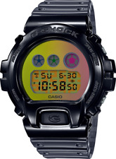 Casio G-Shock Semi-Transparent Resin DW6900SP-1 Black 25th Anniversary 2020
