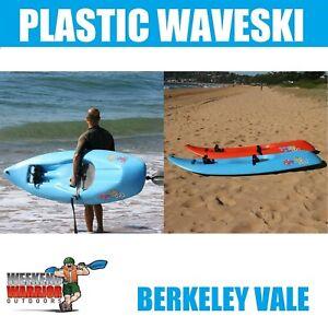 Waveski Pro PLASTIC Roto Wave Ski SUPER ROBUST 2.3m 2.5m RIDE THOSE WAVES!!
