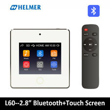 HELMER Bluetooth In Wall Amplifier,Home Stereo Audio System,Volume Control,L60WT