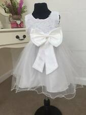 Flowergirl Dress Princess Christening Party Wedding Bridesmaid Girls Kids Maisy
