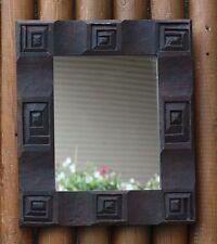 ETHNO SPIEGEL Holz Tribalstil Wandspiegel Dekospiegel Holzspiegel Ethnospiegel