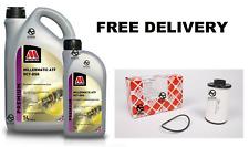 Febi 44176 Transmission Filter plus Millermatic ATF DCT- DSG gear oil