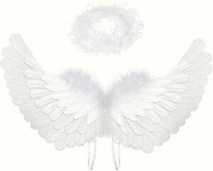 Angel Wings and Halo for Kids Angel Costume Adult