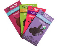 Real Fruit Snacks by Peaceful Fruits 24ct - Apple, Strawberry, Acai, Passion