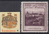 LIECHTENSTEIN - Yv 104b cv 210$ MH* perf 11½x11½