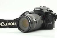 [EXC+++++] Canon EOS 7 Elan 7E 35mm SLR Film Camera EF Zoom 75-300mm f/4-5.6