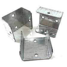 "PACK OF 10 - 40mm (1.60"") FENCE & TRELLIS CLIPS BRACKET PANEL FIXING GARDEN POST"
