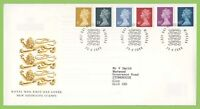 G.B. 2000 six definitives on Royal Mail First Day Cover, Windsor