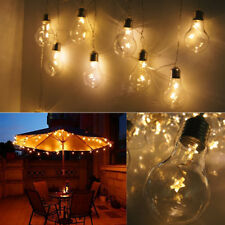 Vintage Retro Edison Bulb Fairy 20LEDs String Lights Festoon Xmas Garden Hanging