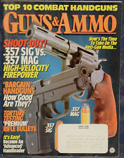 Magazine GUNS & AMMO April 1995 !!! BROWNING A-BOLT .22 Hornet RIFLE !!!