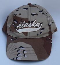 Alaska Adjustable Strapback Structured Camo Dad Hat Baseball Cap