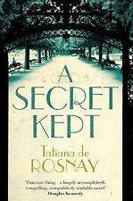 A Secret Kept, de Rosnay, Tatiana, Very Good condition, Book