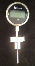 DTG 31 Mini Sanitary Digital Temperature Gauge with Programmable 4-20mA Output