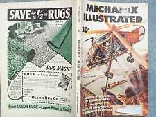 1953 MECHANIX ILLUSTRATED AUGUST  FIGHTING FIRE FROM THE AIR  ATOMIC POWER