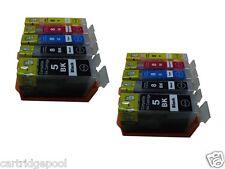 10 ink cartridge for canon Pixma MX850 MP950 PGI-5BK ip4200 ip4200R ip4300 MP830