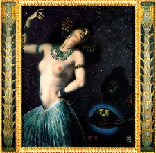 Franz di stucco 06 Salome PIASTRA 56x55 ballerina estasi palco servi principale