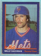 1985 N.Y. Mets Baseball Club Wally Backman # 1 (KCR)