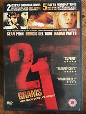 Sean Penn Naomi Watts 21 Grams 2003 INARRITU American Indie Drammatico UK DVD