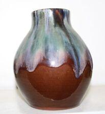 Keramik Vase Laufglasur ungedeutet Stil Bürgel Art Deco Jugendstil